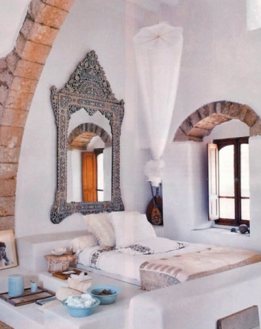 Bedroom Oasis With Moroccan Style