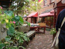 German Village Bookshop, tucked among delicious restaurants,intriguing gift shops.