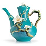Franz Porcelain Van Gogh Almond flower teapot Franz Fine Porcelain