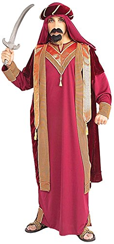 Adult-Costume Sultan Adult Costume Halloween Costume - Most Adults