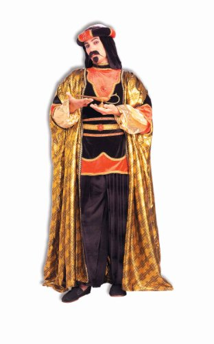 Forum Novelties Royal Sultan Costume, Black/Gold, One Size