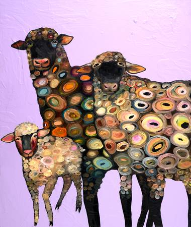 artistic sheep