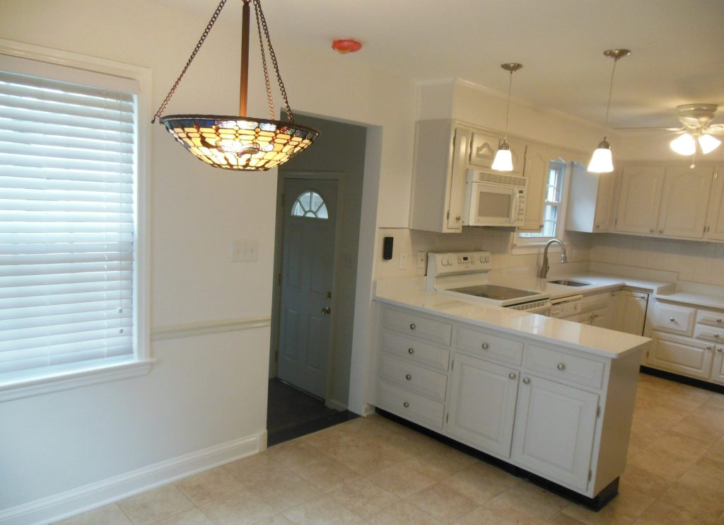 Kitchen in Rent-to-own Home at 11101 Glen Arm Road, Glen Arm, MD 21057