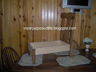 old chair dog bed