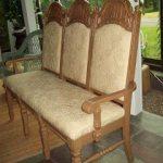 triple chair bench