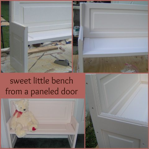 paneled-door-bench