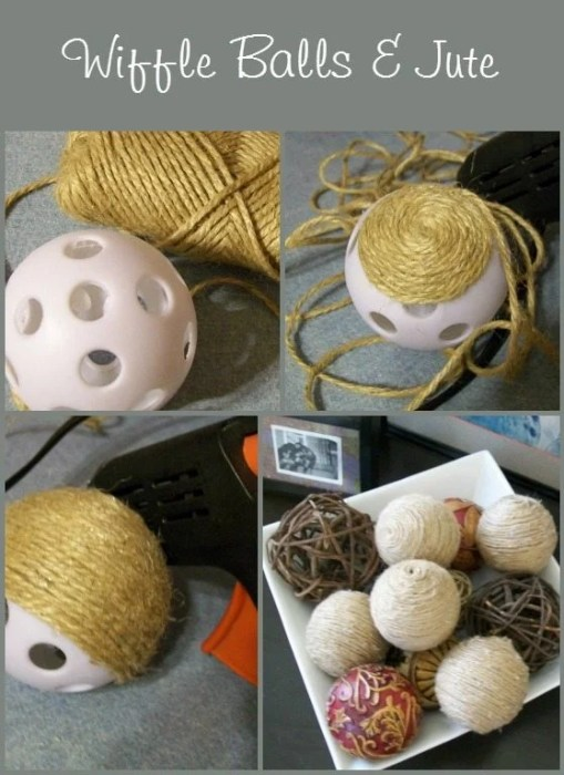 MyRepurposed-Life-decorative-balls-from jute and wiffle balls