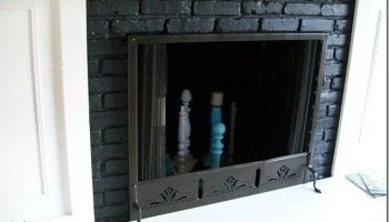 Easy Window Project Fireplace Decor My Repurposed Life