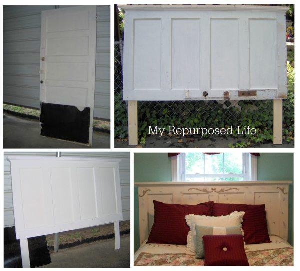 MyRepurposedLife-repurposed-door-headboard