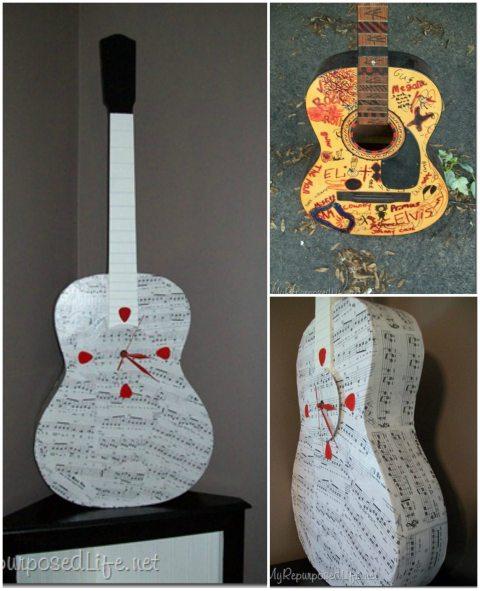 repurposed guitar
