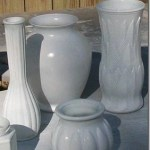 Spray Painting Glassware and Vases