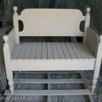 Twin Headboard Bench tutorial