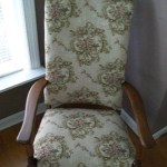 antique rocker makeover