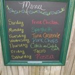 chalkboard ideas for craft show