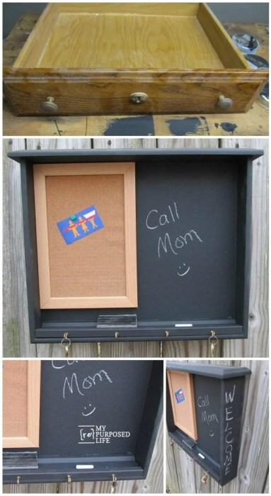 repurposed-desk-drawer-chalkboard-memo