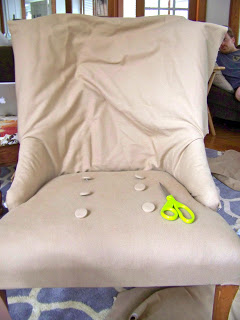Stretching Upholstery