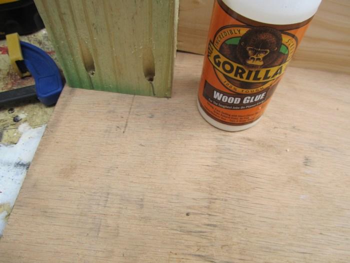 pocket holes and gorilla wood glue