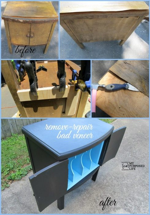 MyRepurposedLife-how-to-remove-repair-bad-veneer