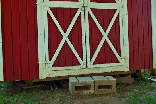 How to Build a Shed Ramp {Potholes and Pantyhose} - My