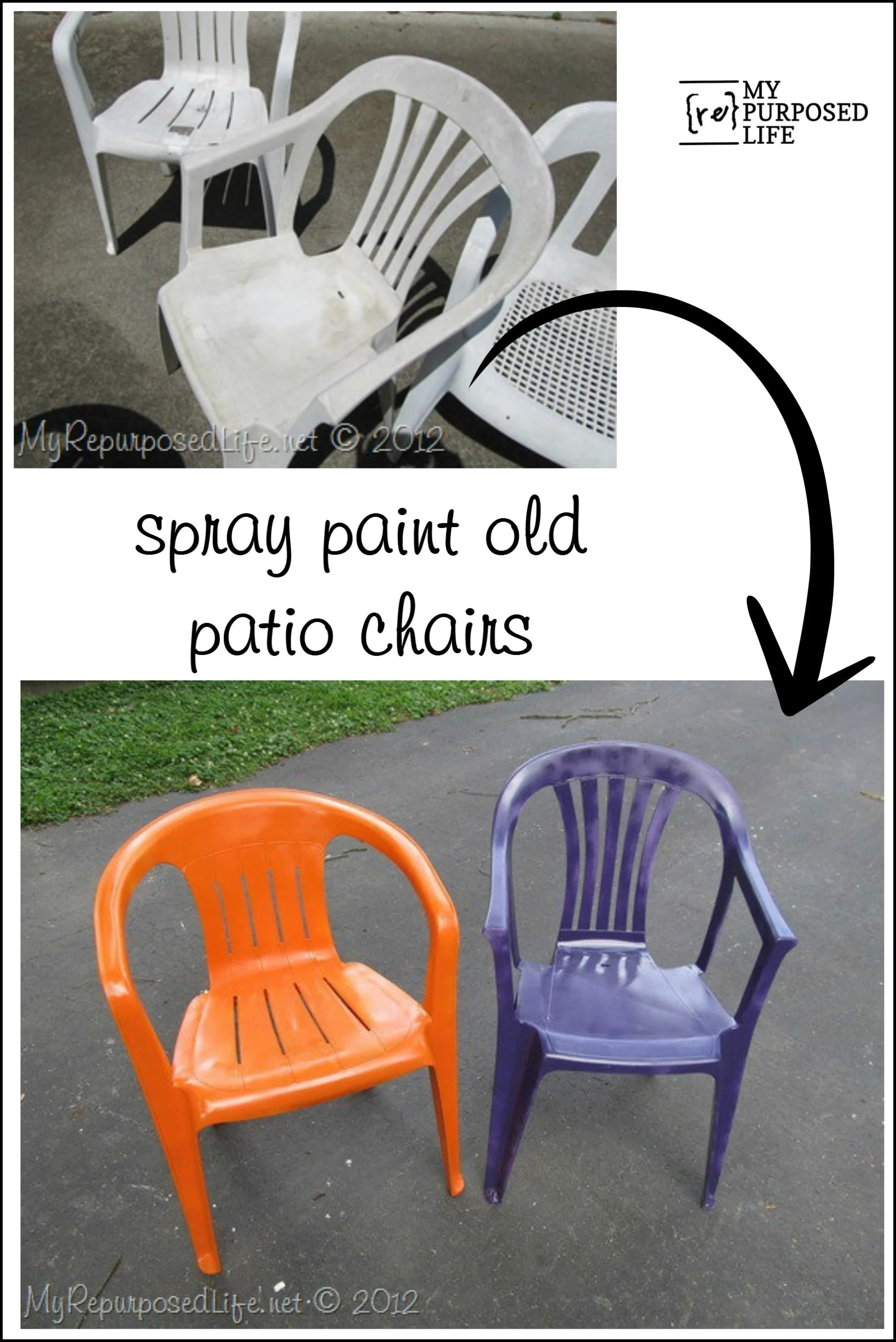 Beautiful Do You Have Some Of These Cheap Plastic Chairs That Are Ridiculously  Stained And Ugly? I Have 4 That Iu0027ve Had So Long, I Donu0027t Even Know Where  They Came ...