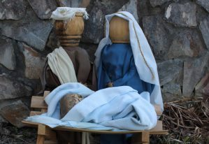 Nativity set from Kitty Wall