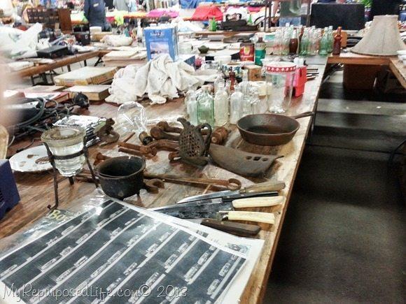 junky flea market booth
