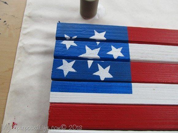 Americana Flag Stars