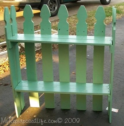 Picket Fence Shelf