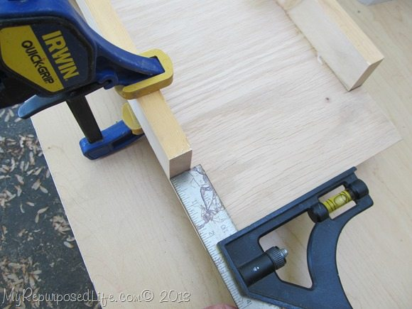 use glue and clamps