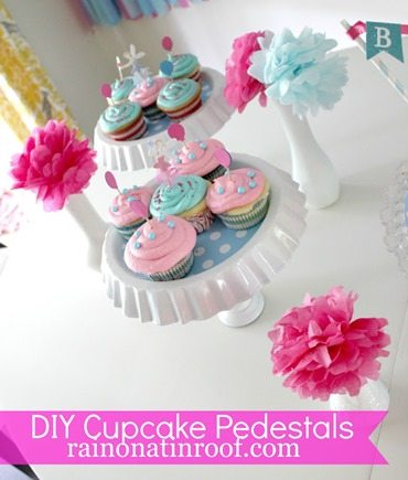 DIY Cupcake Pedestals 2
