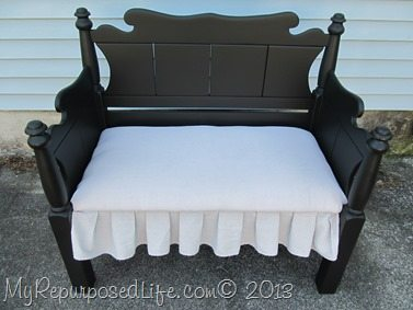 Twin bed-bench upholstered (43)