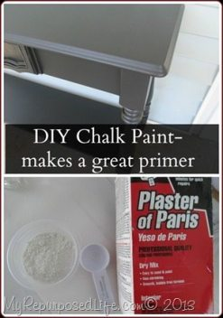 DIY Chalk Paint primer