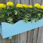 Repurpose Cornice into Flower Box