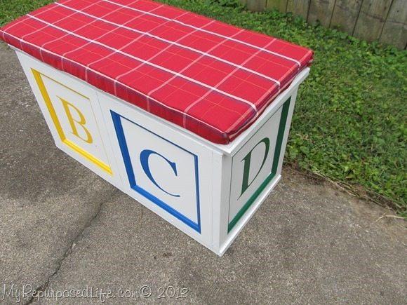 diy abc blocks toy box