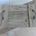 Easy Rustic Trays