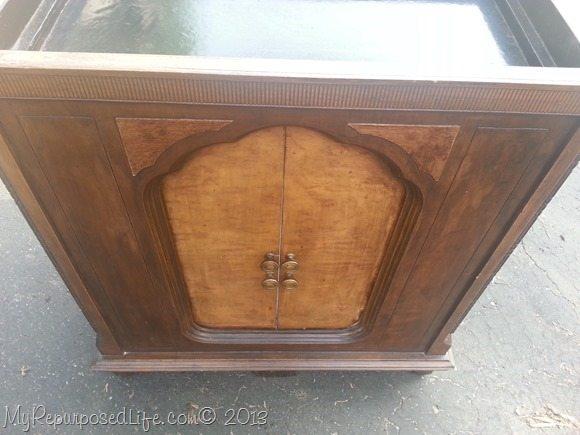 antique radio cabinet