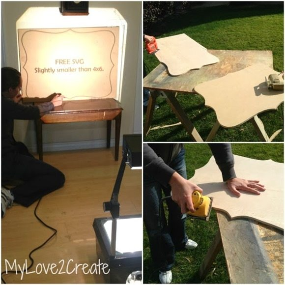 how to cut out a large frame 2