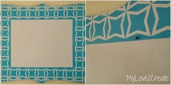 how to make a large cut out frame