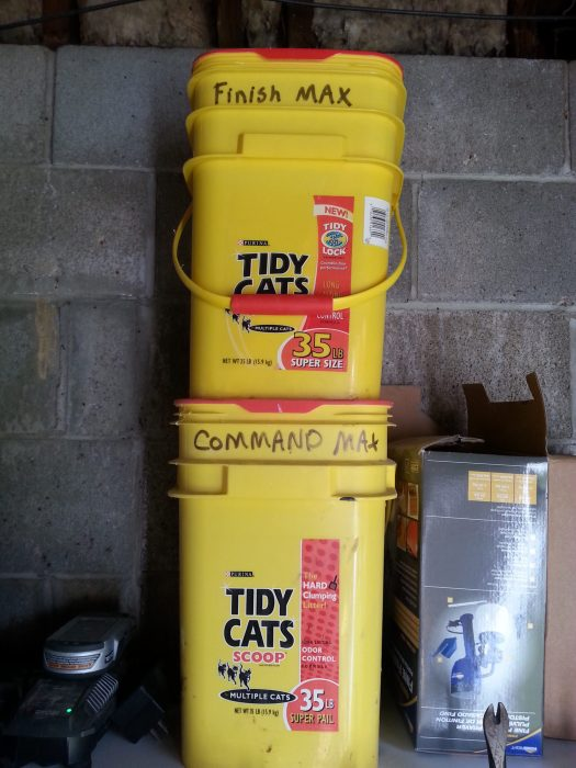 garage storage paint sprayers