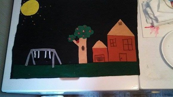 diy puppet show backdrop