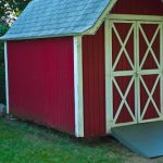 How to Build a Shed Ramp {Potholes and Pantyhose}