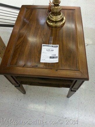 thrift-store-end-table