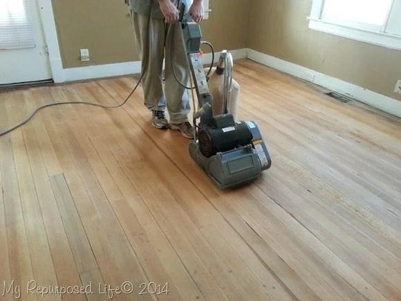 Tips For Sanding Vintage Hardwood Floors My Repurposed Life 174