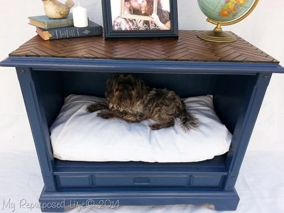 pet-bed-repurposed-tv-cabinet
