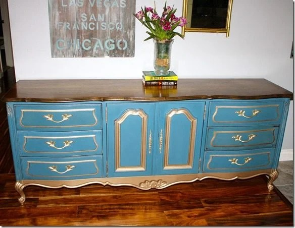 french-provincial-dresser-redo-blue-gold