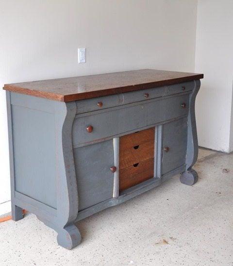 pretty-blue-buffet-dresser