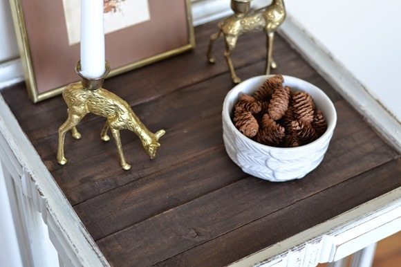 shabby-white-rustic-side-table