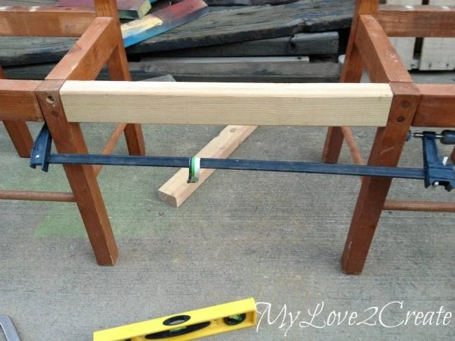 adding front board with pocket holes