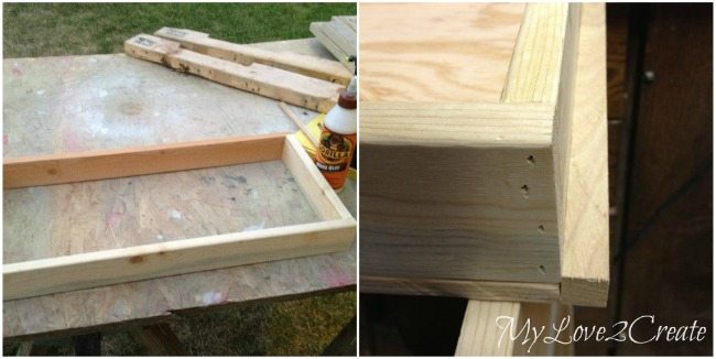 Building drawer and drawer guide