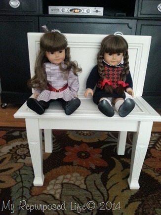 american-girl-doll-bench